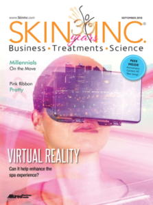 Virtual Reality Spa Treatment