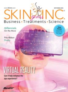 Virtual Reality Spa Treatment